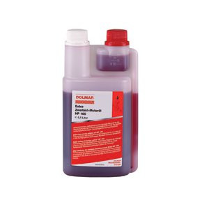 Dolmar 980008113 olej motorový speciál 1:100 0,5l s dávkovačem