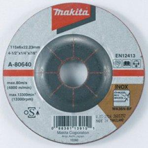 MAKITA A-80640 brusný kotouč 115x6x22 nerez 5ks