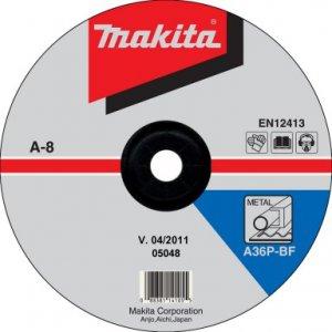 MAKITA A-80955 brusný kotouč 230x6x22 ocel 5ks