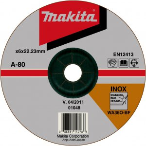 Makita A-80880 brusný kotouč 180x6x22 nerez