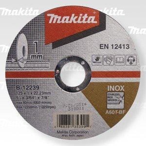 MAKITA B-12239 řezný kotouč 125x1x22 nerez 5ks