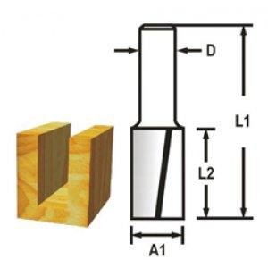 Drážkovací fréza 2 břit 10x19x51