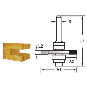Makita D-48985 Kotoučová fréza složiskem