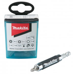 Makita B-48789 sada bitů 26 ks, adaptér 120mm