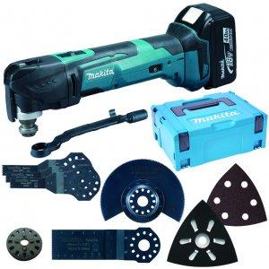 Aku Multi Tool s příslušenstvím Li-ion 18V/5,0Ah