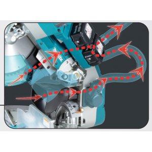 Aku pokosová pila s AWS 305mm Li-ion LXT 2x18V bez aku   Z - Nový systém odsávání prachu