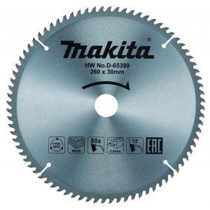 Makita D-65399 pilový kotouč 260mm x 30mm x 80 zubů