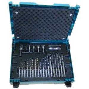 Makita B-69478 sada bitů s vrtáků SDS-Plus 65k,systainer