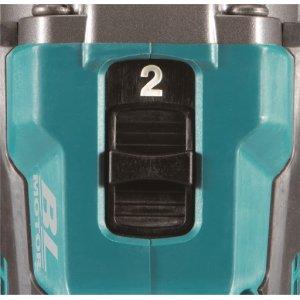 Aku bezuhlíkový příklepový šroubovák Li-ion XGT 40V/4,0Ah - 2 rychlosti