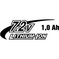 Li-ion 7,2V