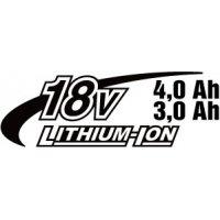 Li-ion 2x18V